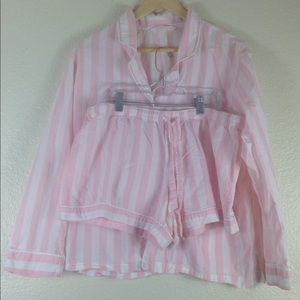 Cozy Victoria's Secret Pajamas PJs Set Size Large